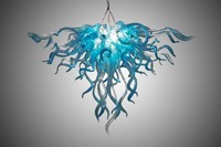 Murano Glass Chandelier Modern Art New Style Light Home Made Chandelier with LED Bulbs