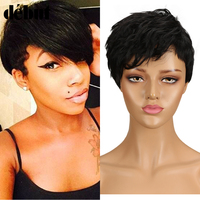 Debut Whole SALE Brazilian Human Hair Wigs Curly Short Human Hair Wig F1B/99J Ombre Color Bob Wig Human Hair Wigs For Mom Love
