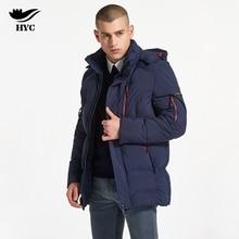 HAI YU CHENG Winter Coat Male Puffer Jacket Fashion Parka Men Plus Size Moto Jacket Windproof