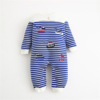 Sailor Striped Baby Romper Bodysuit Baby Girl Boy Custume Clothes Newborn Long Sleeve Sping Autumn Winter