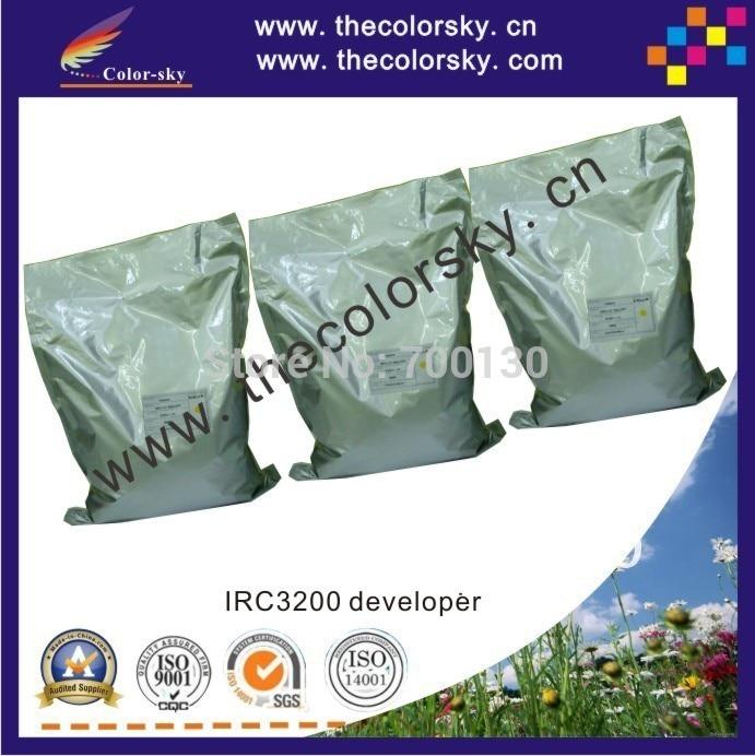 (DVCRX-IRC3200U) copier developer iron powder for Canon GPR-10 GPR-11 GPR10 GPR11 GPR 10 11 bkcmy 1kg/bag free shipping by dhl