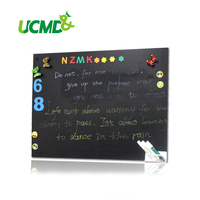 Magnetic Blackboard Magnetic Wall Photos Doodle Board Drawing Board Multifunctional Soft Blackboard Liquid Chalk