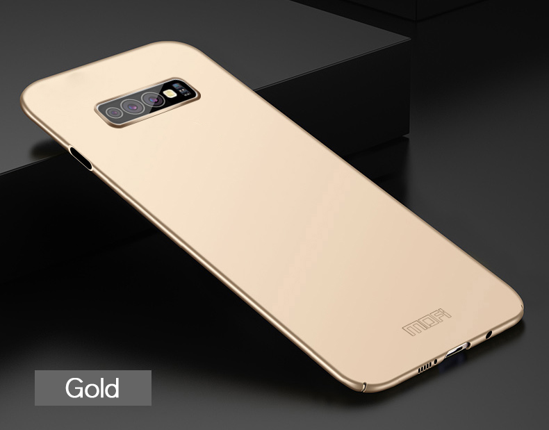 Case For Samsung Galaxy S10 E Mofi Brand Luxury 360 Full Body Cases Hard Frosted PC Back Cover For Galaxy S10 E