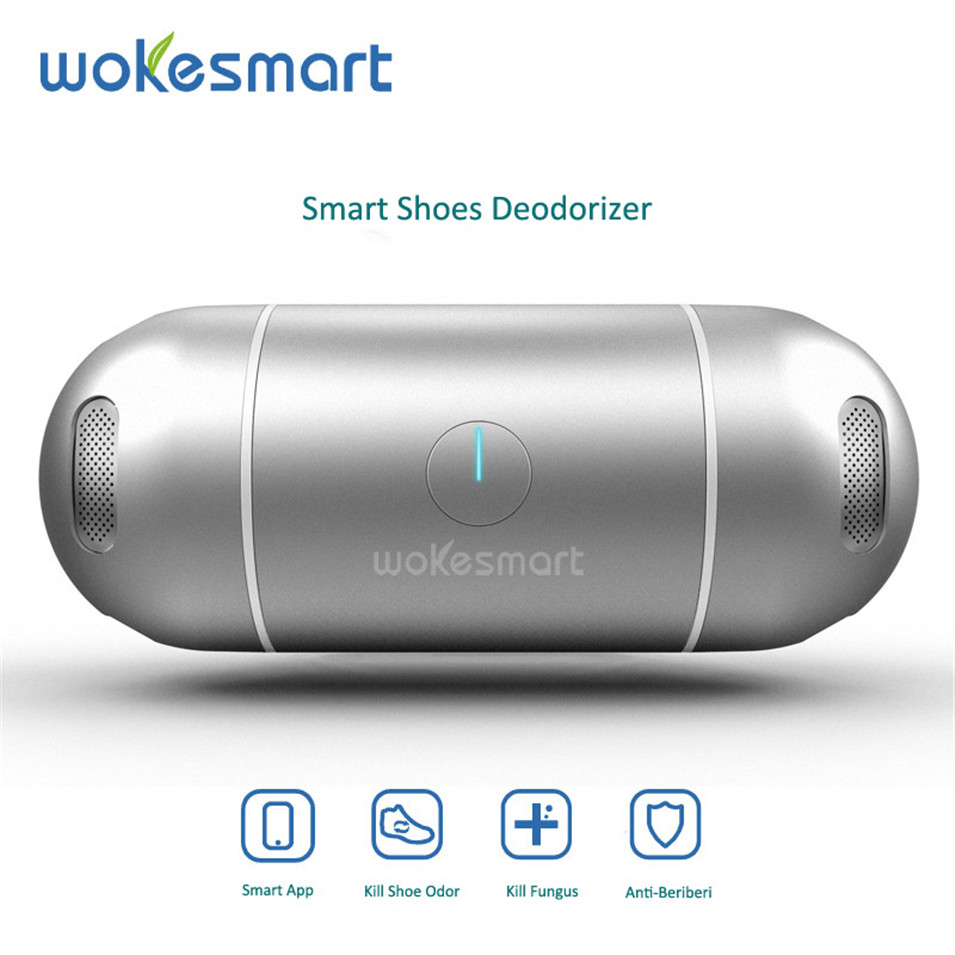 Wokesmart Intelligent <font><b>Bluetooth</b></font> 4.0 <font><b>Shoes</b></font> Deodorizer Ozone Footwear Deodorant Odor Remove IOS Android APP Control Smart Home