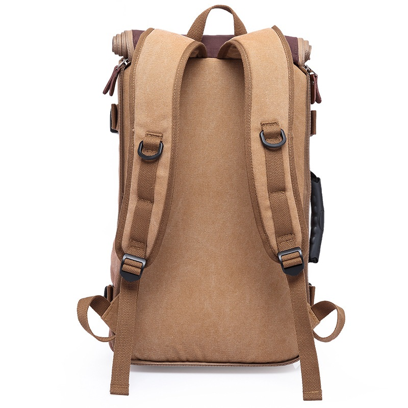 DB27 カカホット高品質プロモーションファッションデザイナーヴィンテージキャンバスビッグサイズメンズトラベルバッグ旅行バッグ大容量の荷物バックパック  グループ上の スーツケース & バッグ からの 旅行バッグ の中 3