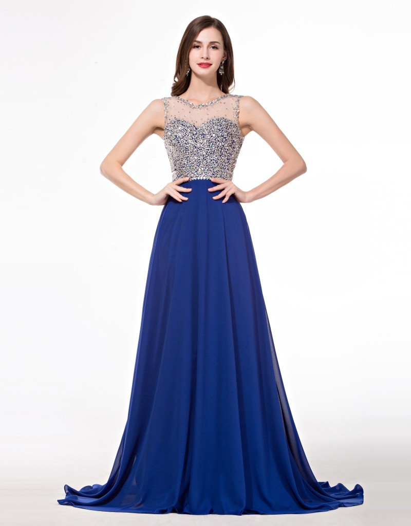 Aliexpress.com : Buy Crystal Vintage Prom Dresses ...