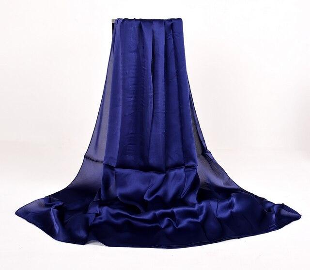 BYSIFA Ladies Plain Silk...