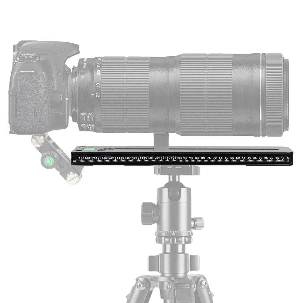 NNR-200 Teleobiettivo Piastra Sgancio Rapido Supporto Per Ballhead Dslr