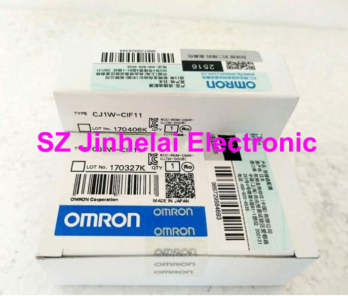цена на CJ1W-CIF11 Authentic original OMRON Communication adapter