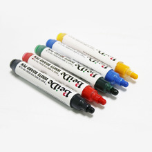 5 colors Dry Erase Whiteboard Markers Low Odor Non-toxic for Whiteboards, Glass