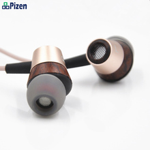Pizen Magaosi BK50 32 Ohm In Oor Houten Oortelefoon Hoofdtelefoon Driver Ba Hifi Headset Oordopjes Mic Volume Oortelefoon