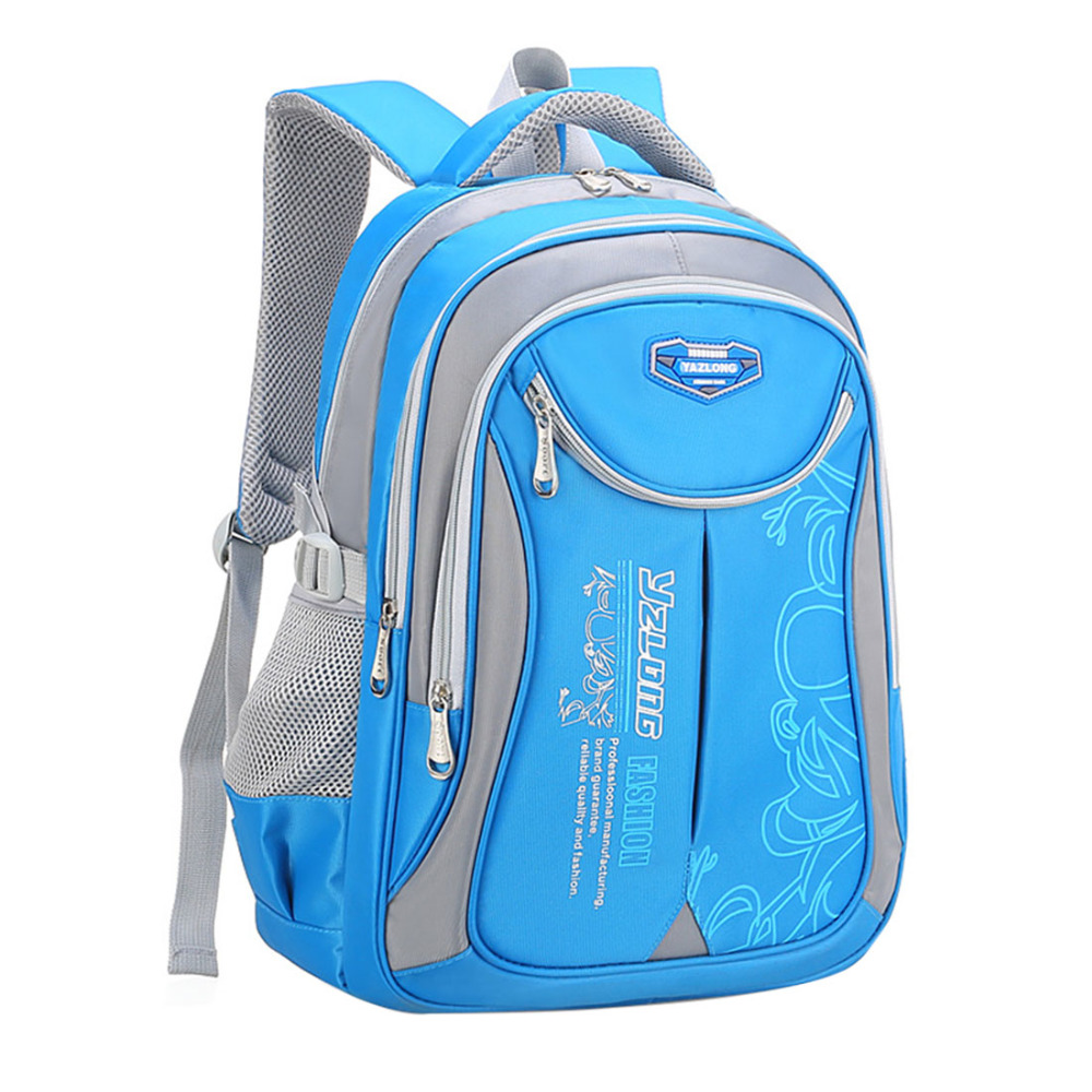Primary Students Schoolbag Big Capacity Children Backpack Bags Reduce The Burden Of Books Waterproof Pack For Teenages Girls Boy(China)