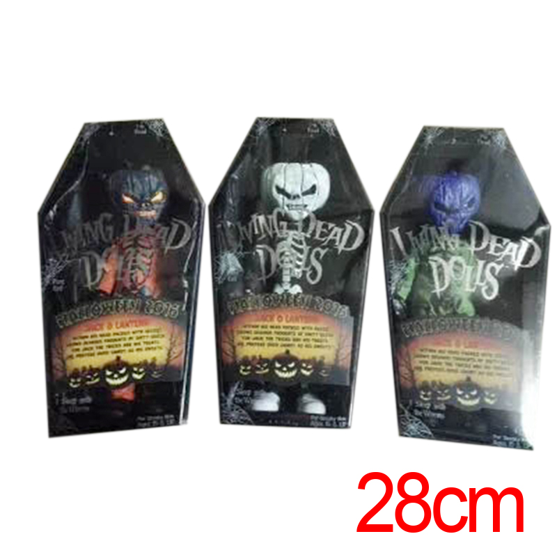 2017 hot sale mezco pumpkin model doll horror collection toy action figure toys halloween gift for kids - Halloween Gifts Kids
