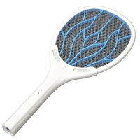 Removable Battery Rechargeable Electric Swatter Pest Control Insect Bug Bat Wasp Zapper Fly Mosquito Killer With