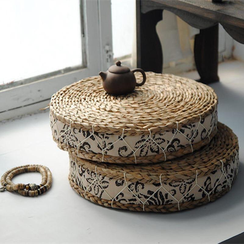 Japāņu stila tatami mat / salmu futona spilvens / sūkļa spilvens - Mājas tekstils