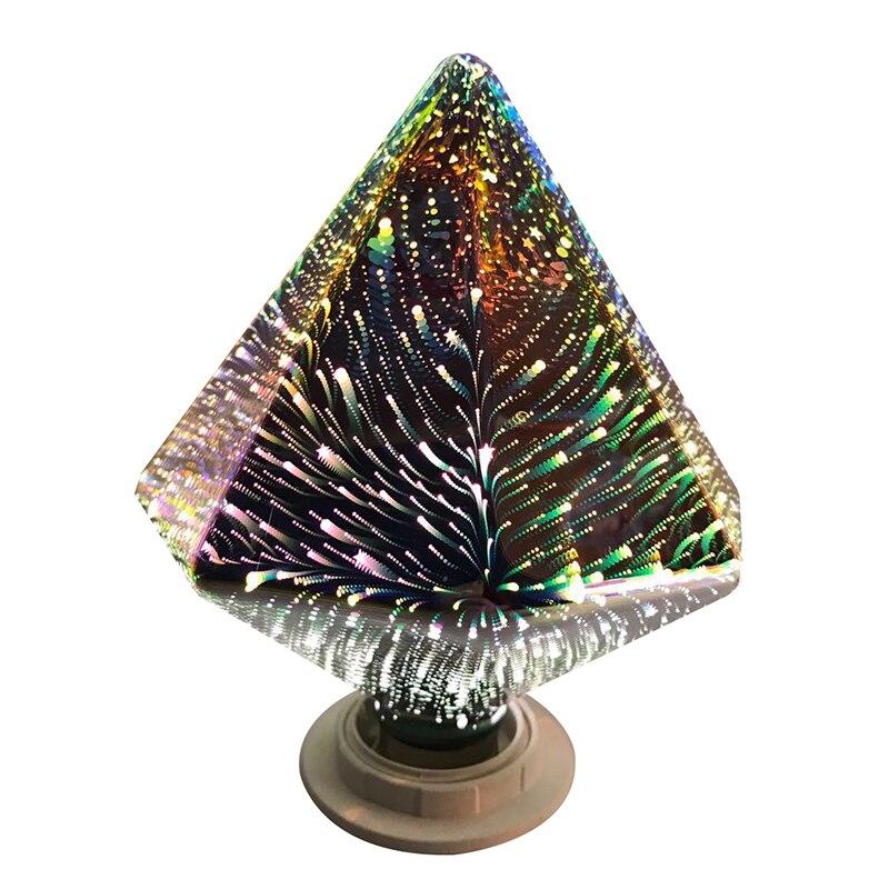 5 Вт LED 3D украшения лампочки 85 В-265 В новинка rgb лампы sharp алмазные нити фейерверк мяч свет для дома праздник