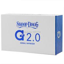 snoop dogg G PRO 2.0 herbal Vaporizer snoop dogg blue and white 2.0 wax dry herb vaporizer pen vapor gpro electronic cigarette