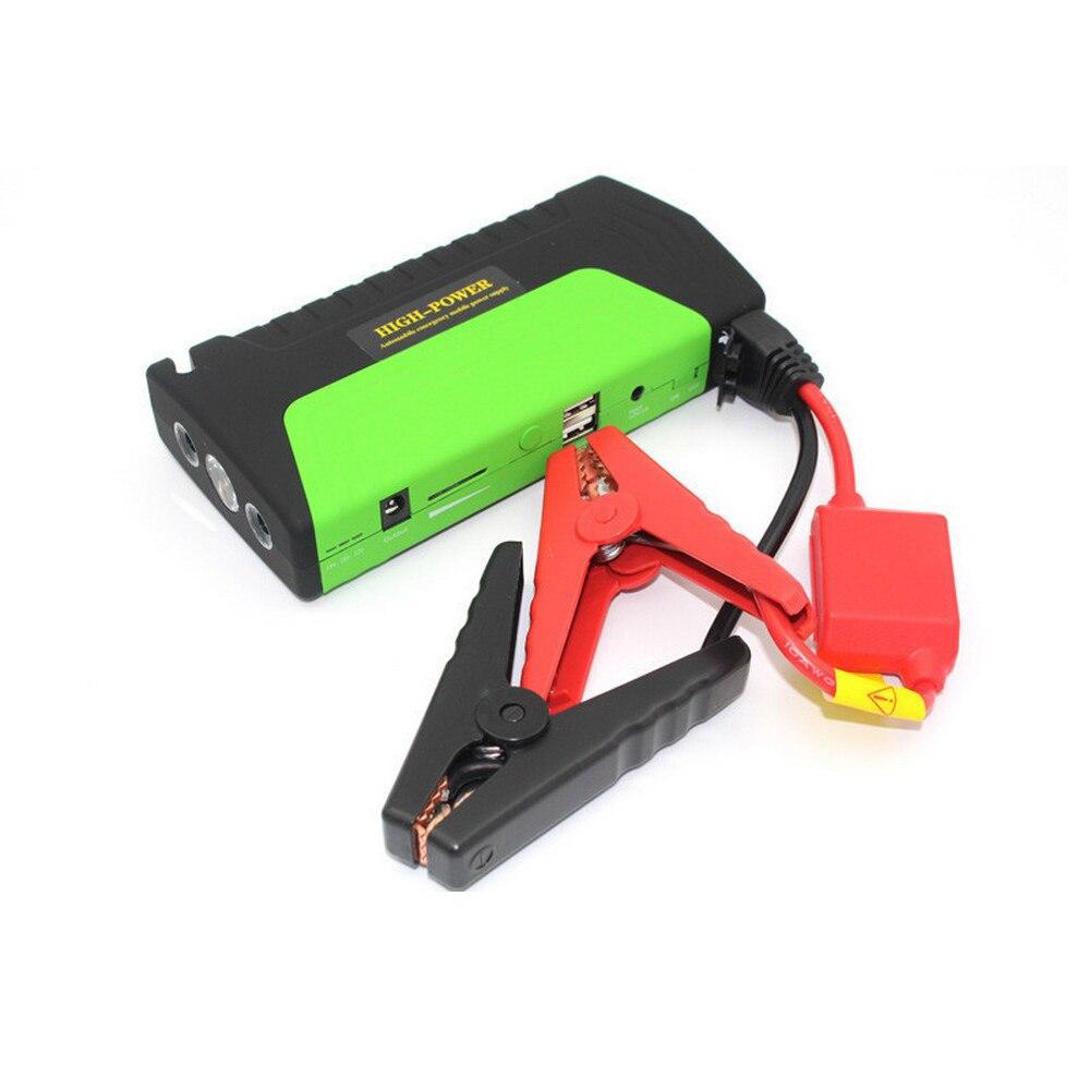 Mini Portable pour propulseur de voiture à essence pour téléphone Portable chargeur de batterie de secours automatique 2USB démarreur de saut de voiture 12 V 10000 mAh