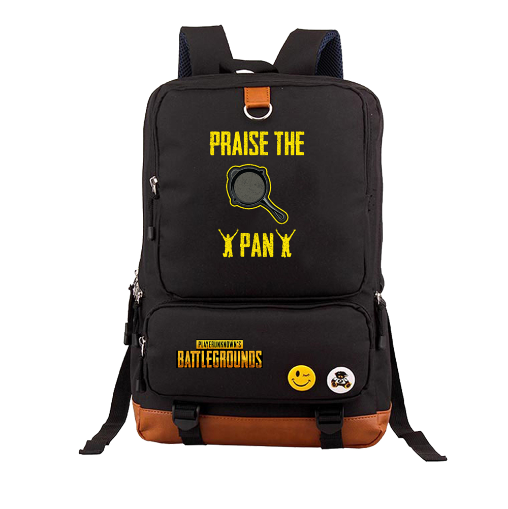87051bcd2f Playerunknown's Battlegrounds PUBG cosplay Backpack Students Travel Bag  teenagers Book Backpacks Fashion Shoulder Bag Rucksack-in Backpacks from  Luggage ...
