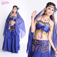 2017 Belly Dancing Bollywood Dance Costumes Indian Dress Long Gypsy Skirts Indian Dance Costumes for Women Performance Free Size