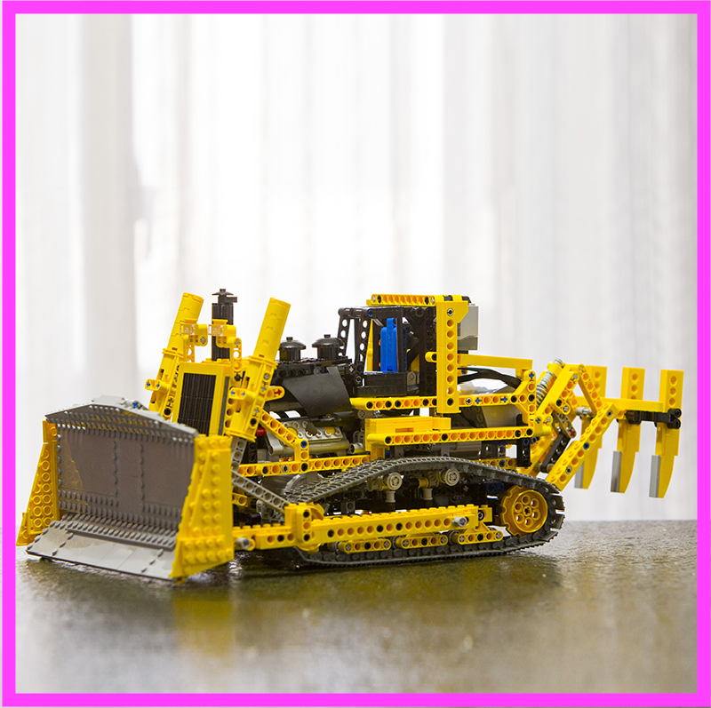 NEW LEPIN 20008 technic series 1384pcs the bulldozer Model Building blocks Bricks kits Compatible 8275 boy brithday gifts free shipping lepin 21002 technic series mini cooper model building kits blocks bricks toys compatible with10242
