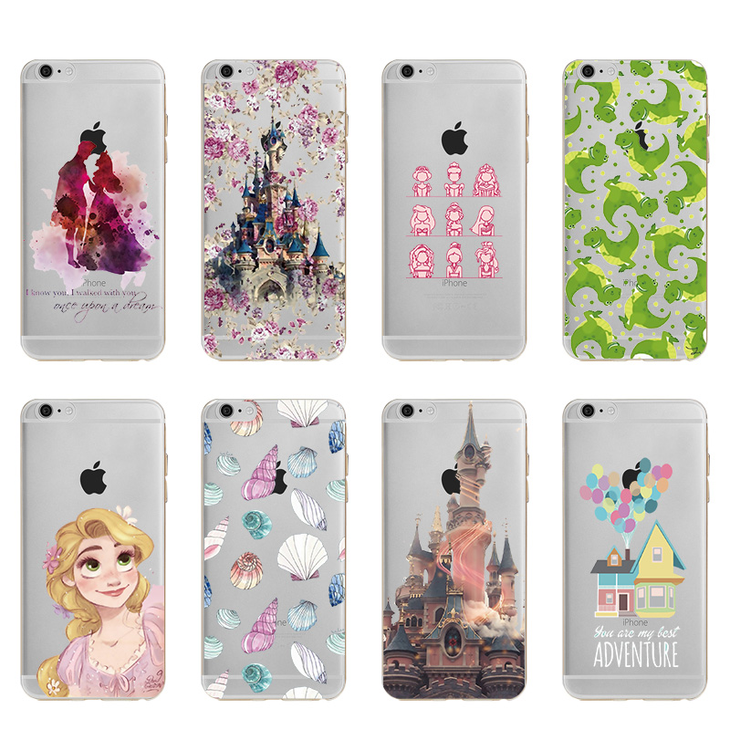Movie Beauty and the Beast Prince of castle princess Soft TPU Silicone Case Cover For Ap ...