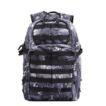 Hot Sale Men Outdoor Style Miliatry Camo Camping Bag Patrol 3 Day Tactical Molle Camel Pack