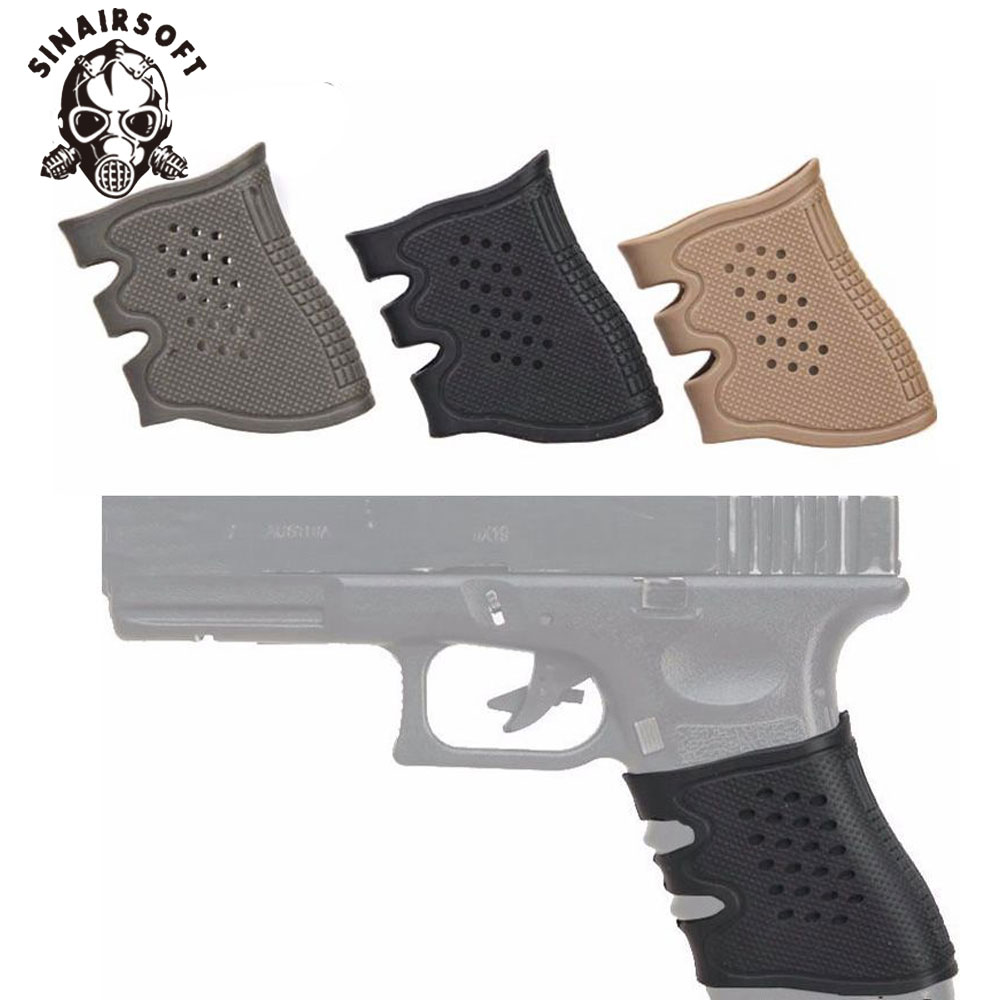 Rubber Anti-slip Tactical Gun Tire Gun Protects Black Tactical Glove Glock Holster Glock Holster For Glock 17 19 20 21 22 31 32