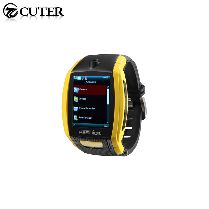 2015 Cool F6 Bluetooth Smart Wrist Watch with Camera Touch Screen MP3 Player Sports font b