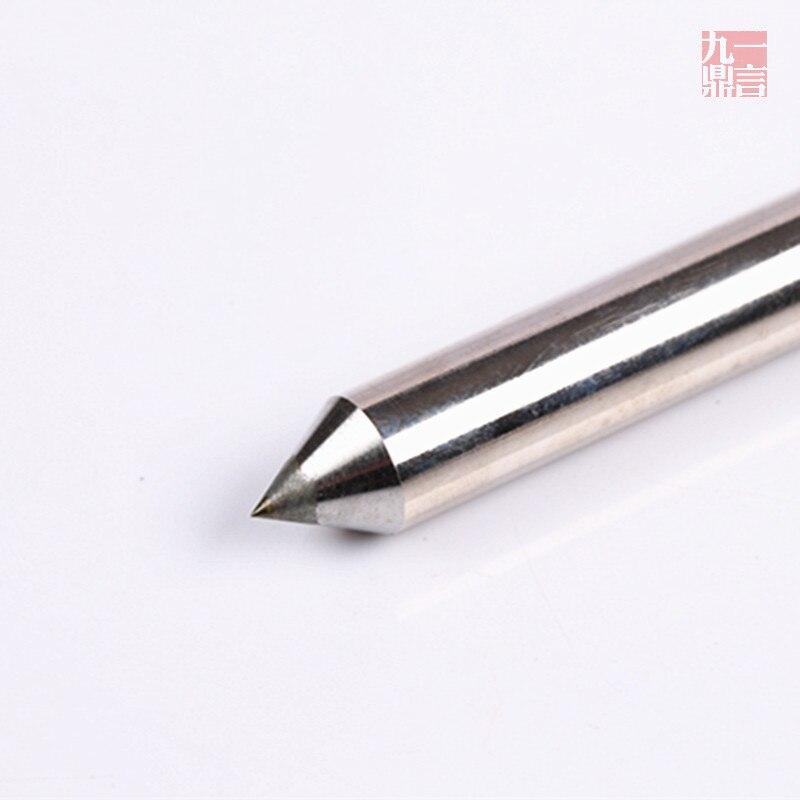 3szt Diamentowy bit 60-stopniowy grawerowanie diamentowe graweruj - Akcesoria do elektronarzędzi - Zdjęcie 2