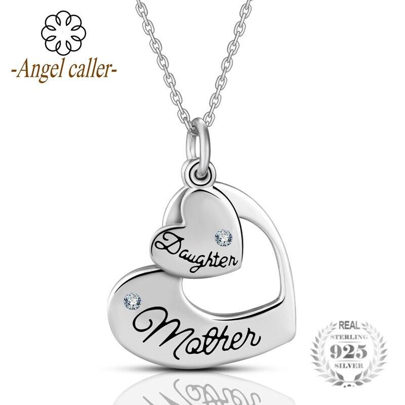 Fine Necklaces & Pendants Sterling Silver Daughter Pendant Fine Jewelry