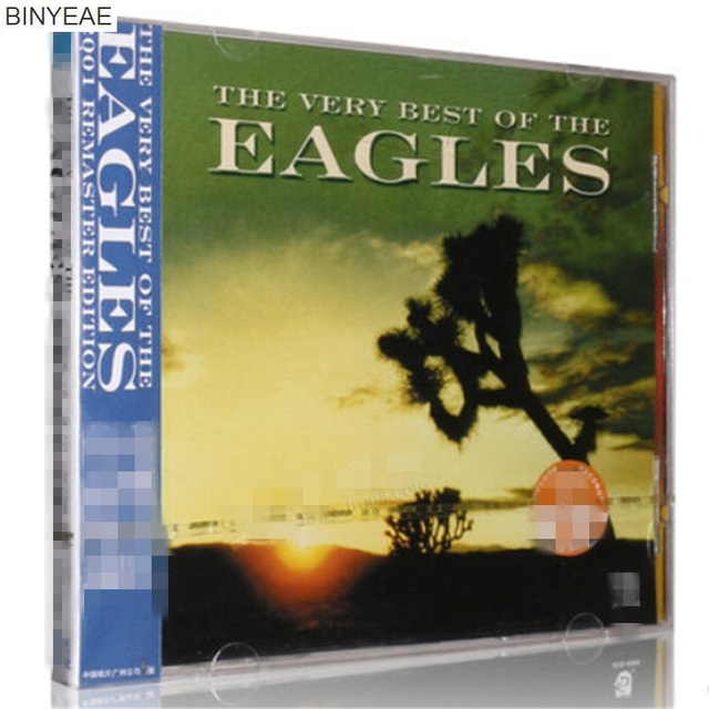 BINYEAE brand new CD seal: Eagles: works featured album car music CD ...