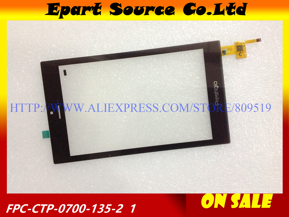Free shipping 7inch LCD touch screen touch panel digitizer glass sensor replacement FPC CTP 0700 135