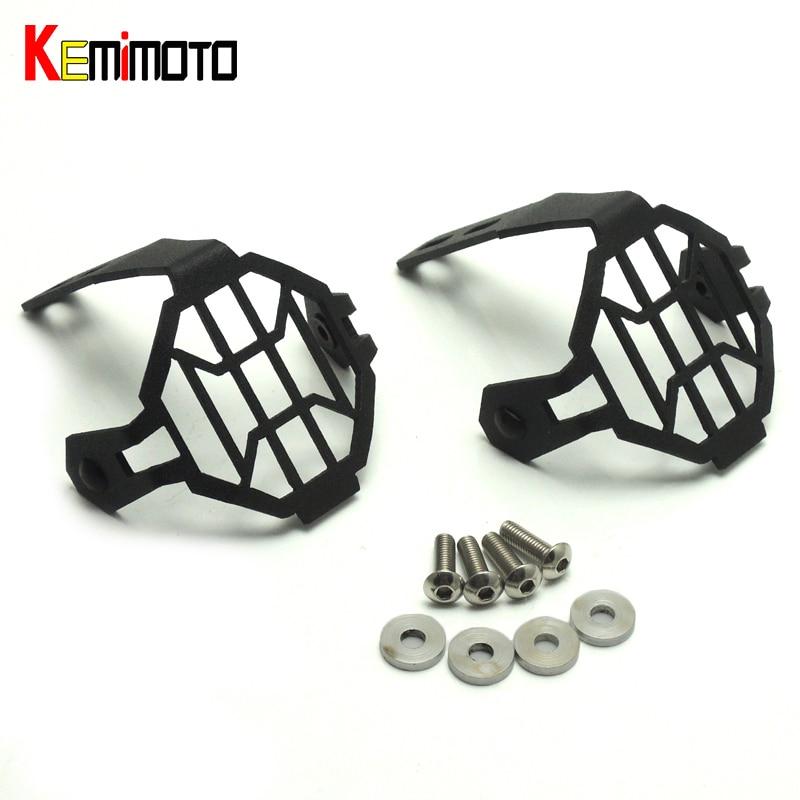 KEMiMOTO Противотуманные фары протектор гвардии Крышка, пригодный для BMW F800GS 2012 2013 2014 2015 2016