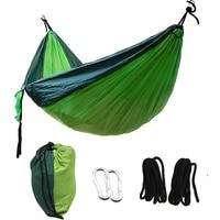 1or 2 People Portable Widening Parachute Hammock Outdoor Camping Swing Parachute Hammock Camping Garden Leisure Sleeping