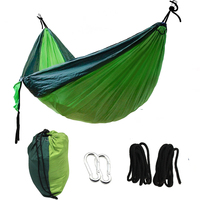 1or 2 People Portable Widening Parachute Hammock Outdoor Camping Swing Parachute Hammock Camping Garden Leisure Sleeping
