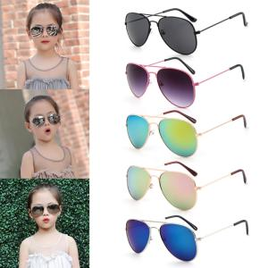 37584eb137 Kid Sunglasses Children Frame UV400 Mirror Sun Glasses