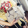2016 Real Pocket Single Zipper Doctor New Handbag Crossbody Bag Mouth Collar Beauty Student Shoulder With A Small Cross Chain