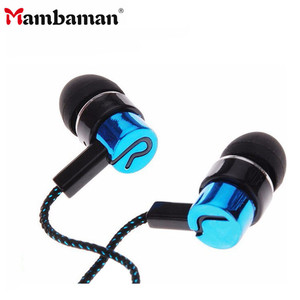 Image 1 - High Quality 3.5mm in ear earphones bass LR sport earphone headset stereo for Iphone 6 6s 5 ipad mini mp4 samsung xiaomi huawei