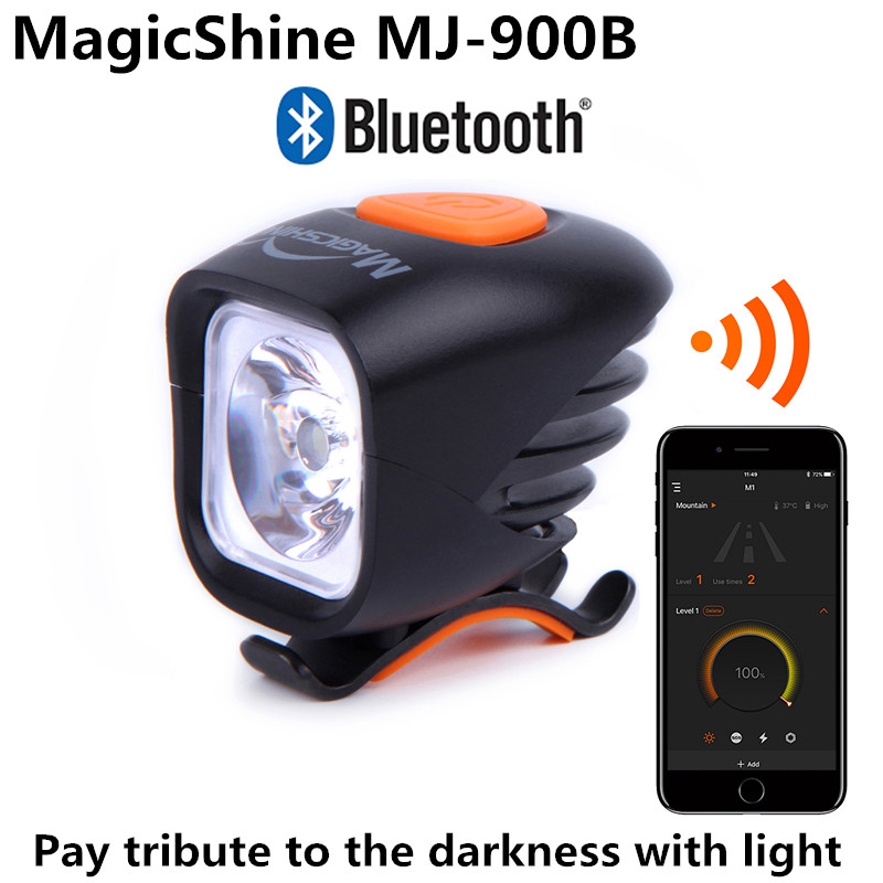 Magicshine MJ-900B MJ900B Bluetooth Programable Bicycle Light Intelligent Bluetooth High Bright Mountain Bike Lighting1000 lumenMagicshine MJ-900B MJ900B Bluetooth Programable Bicycle Light Intelligent Bluetooth High Bright Mountain Bike Lighting1000 lumen