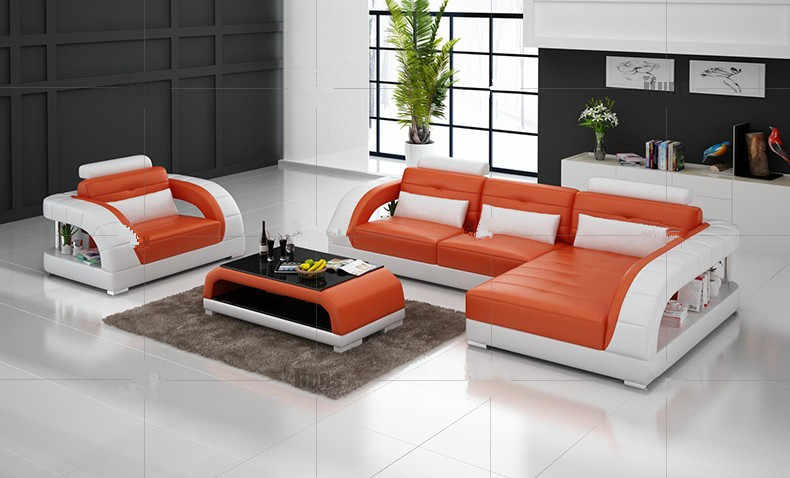 Кожаные угловые диваны из натуральной кожи секционный диван черный