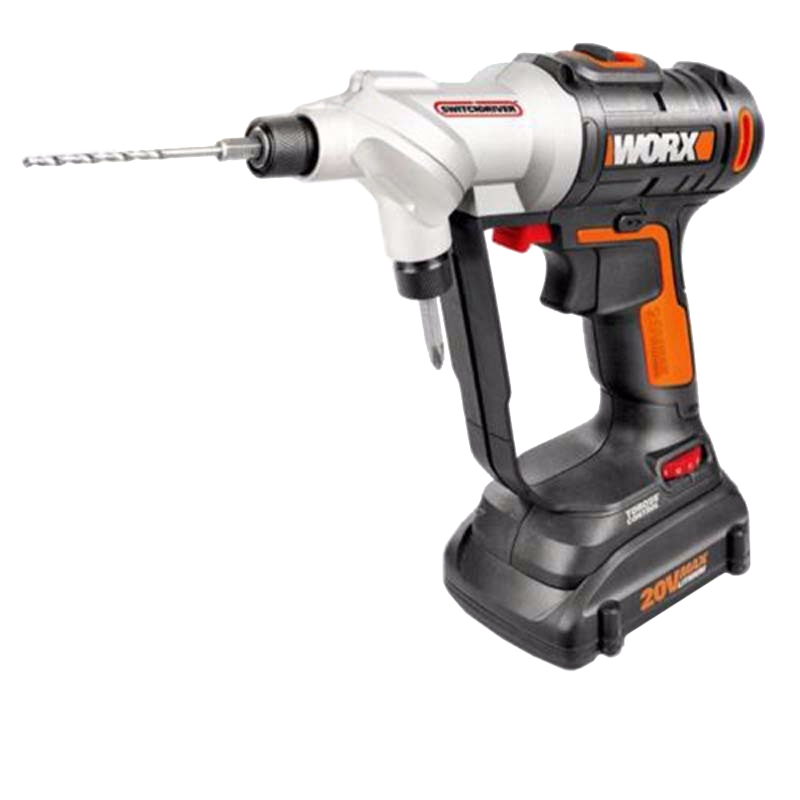 WORX electric cordless screwdriver 20V Li-ion with 1*20V battery 1charger WORX WX176 worx 20v circular saw household desktop dual use wood metal pvc brick hand saws with 1 battery