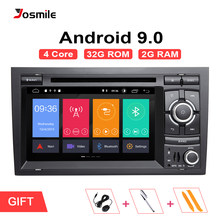 Josmile 2 Din Android 9.0 Car Multimedia Player Para Seat Exeo Audi A4 B6 B7 S4 B7 B6 RS4 8E 8 H AutoRadio DVD Navegação AudioGPS(China)