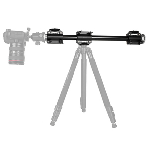 Image 3 - Aluminum 3/8 Screw Support Tripod Arm Rock Solid Cross Bar Side Arm for 4 Heads Head Professional Photography Studio Fixtures