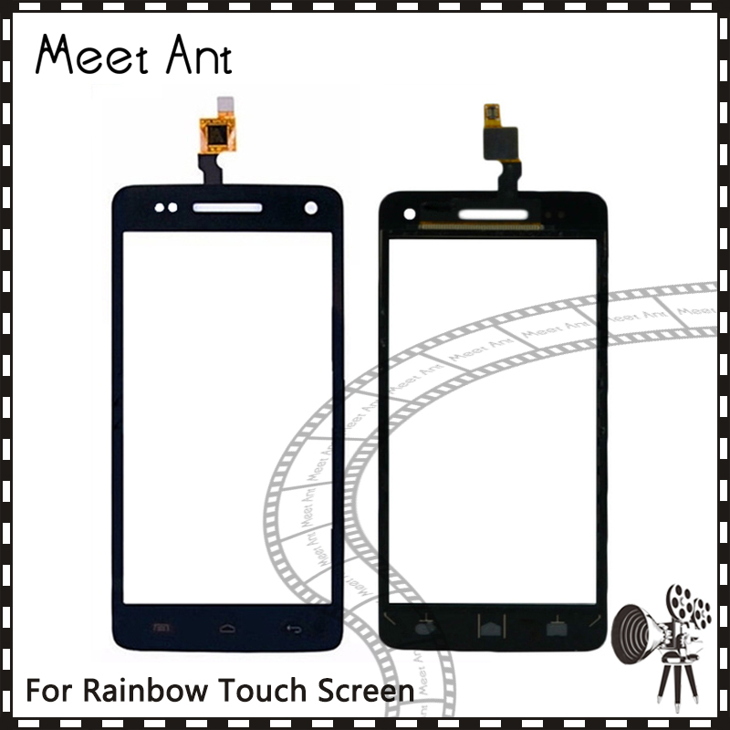 10Pcslot High Quality 5.0 For Wiko Rainbow Touch Screen Digitizer Sensor Outer Glass Lens Panel