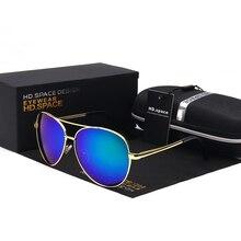 Retro Classic Polarized Sunglasses For Men Metal Aviator Sunglasses Classic Men Mirrored Blue Accessories Sun Glasses For Men