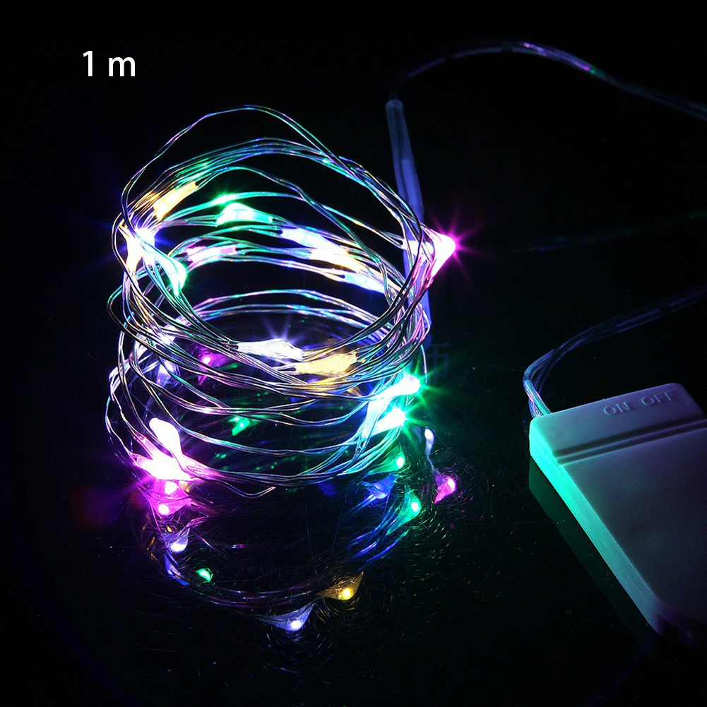 Garland Christmas Fairy Light Waterproof Battery Powered Party Romantic Copper Wire Mini Night Led Holiday Decor Wedding Chain
