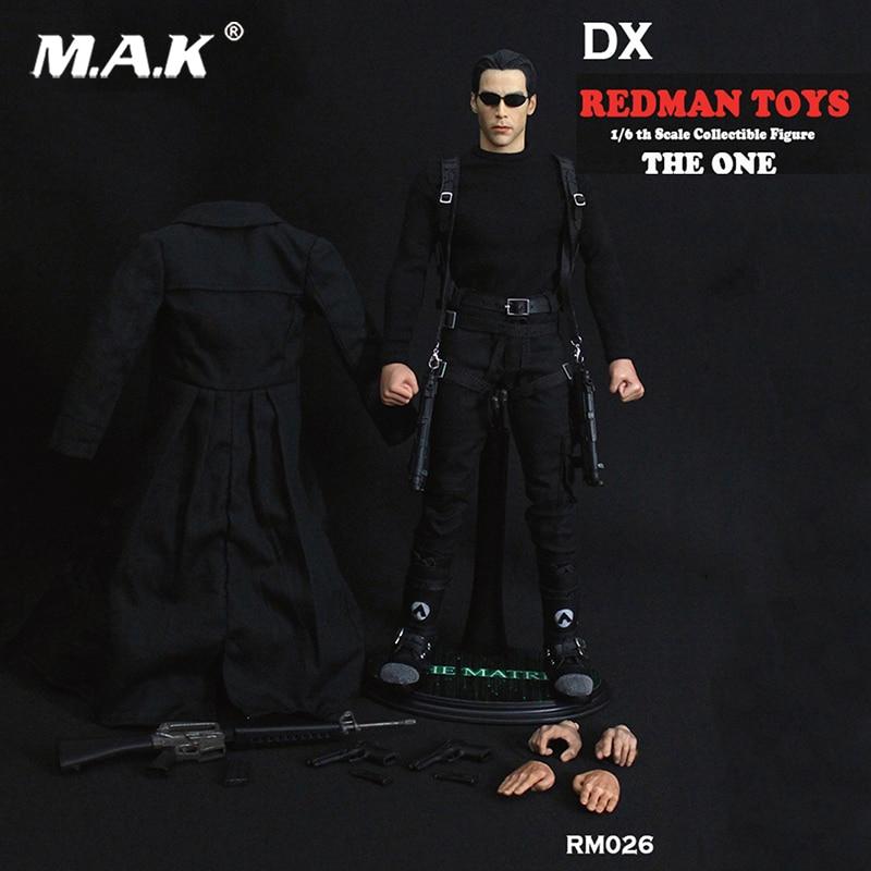Conjunto completo 1/6 escala redman brinquedos collectible figura o um dx a matriz neo rio figura de ação coleção boneca brinquedos presente