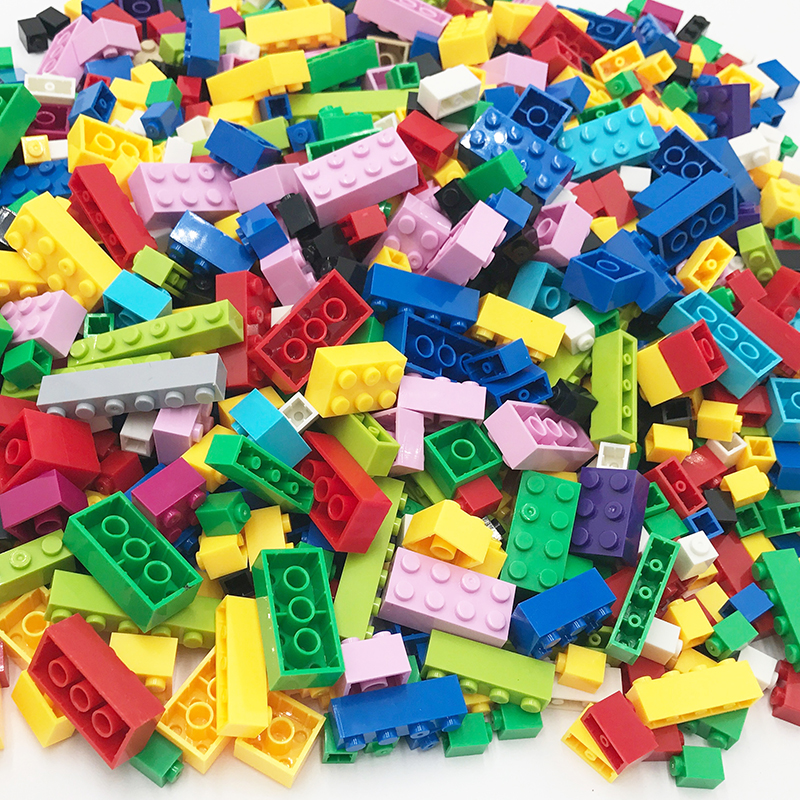 NEW 250-1000 Pieces Model Building Blocks Kits Creative DIY Bricks Toys For Children Christmas Gifts Compatible With Legoings