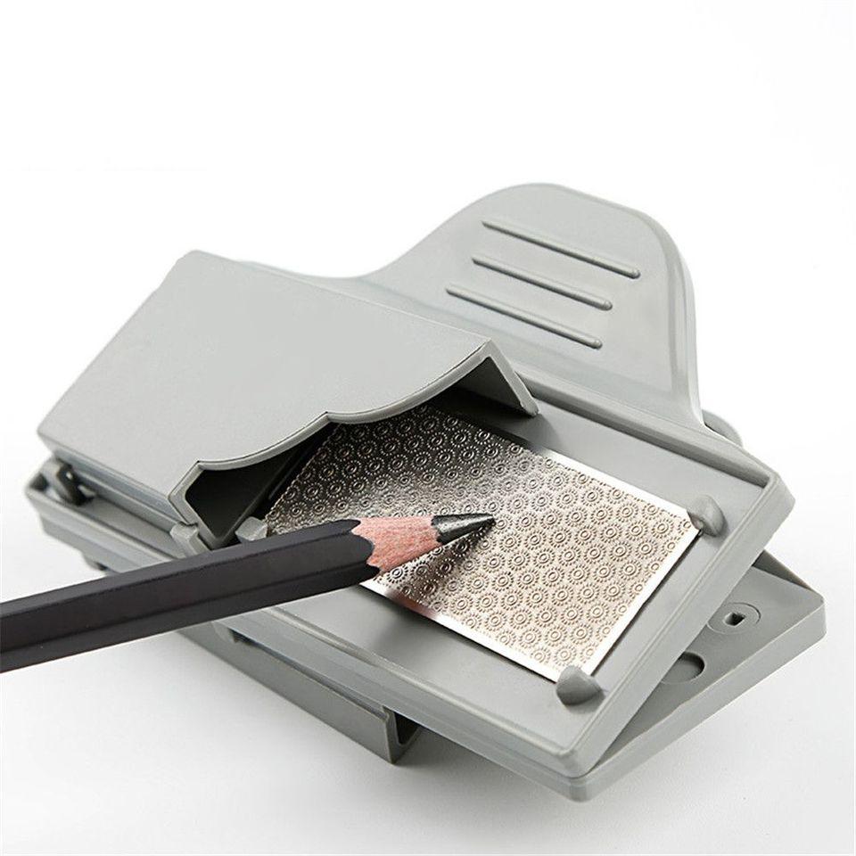 Clip profesional de Metal para dibujo de lápices de carbón Sacapuntas para  afilar material de arte de papelería escolar    - AliExpress